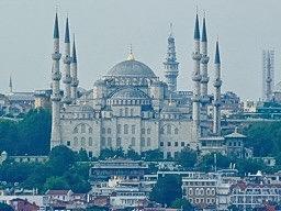 Blue Mosque - 6 minarets