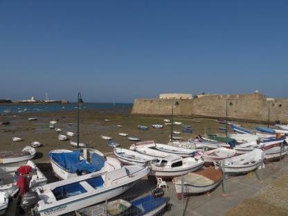 Castle of Santa Catalin - sea fort