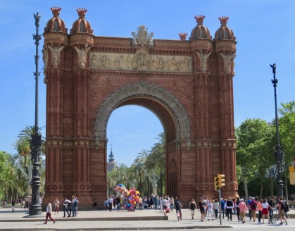 Arco de Triunfo in Spanish