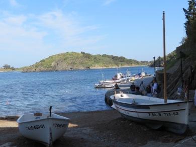 Boats in Port Lligat