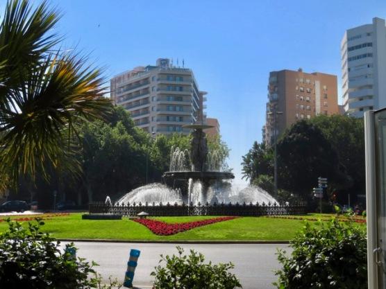 Parque de Málaga area