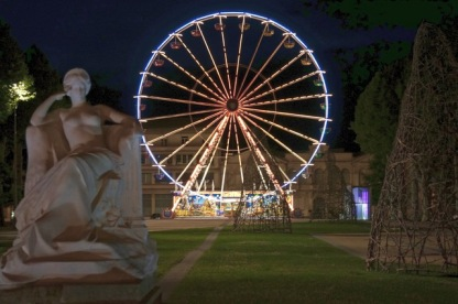 Gambetta square Ferris wheel