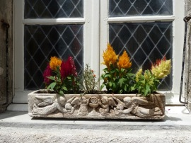 Only a pretty window box