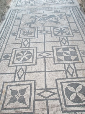 Beautiful entrance mosaic
